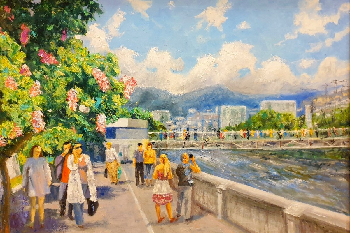 Выставка «Город солнца ицветов»