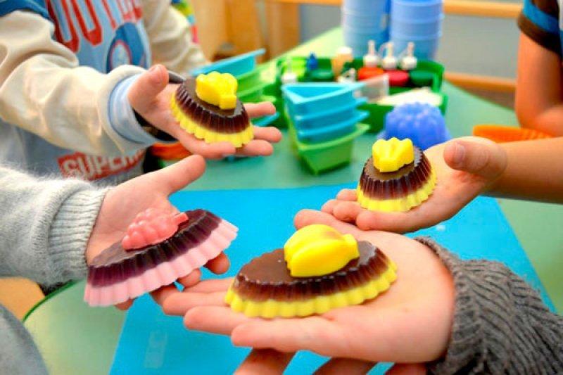 Мыло картинка для детей своими руками